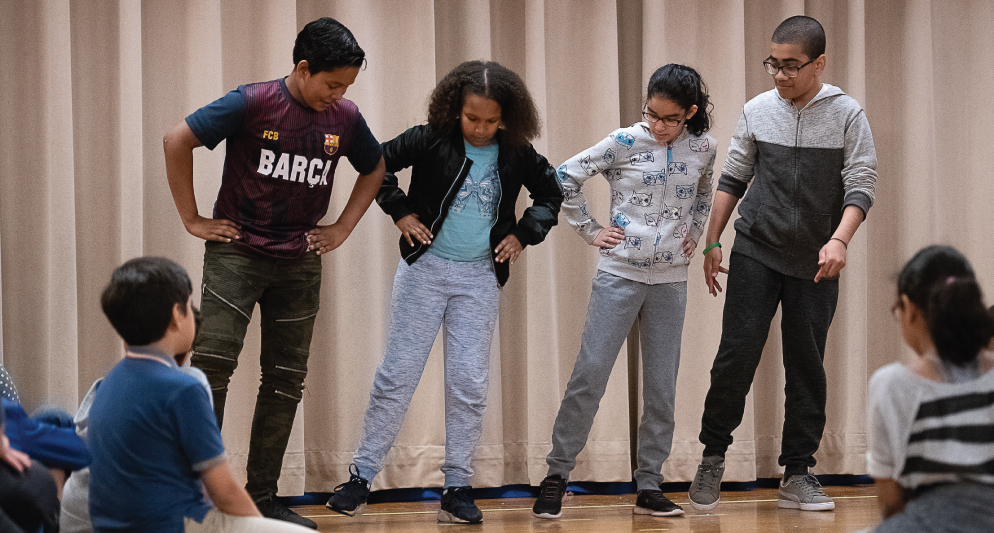 Tap Dance Residency at Brooklyn Independent School