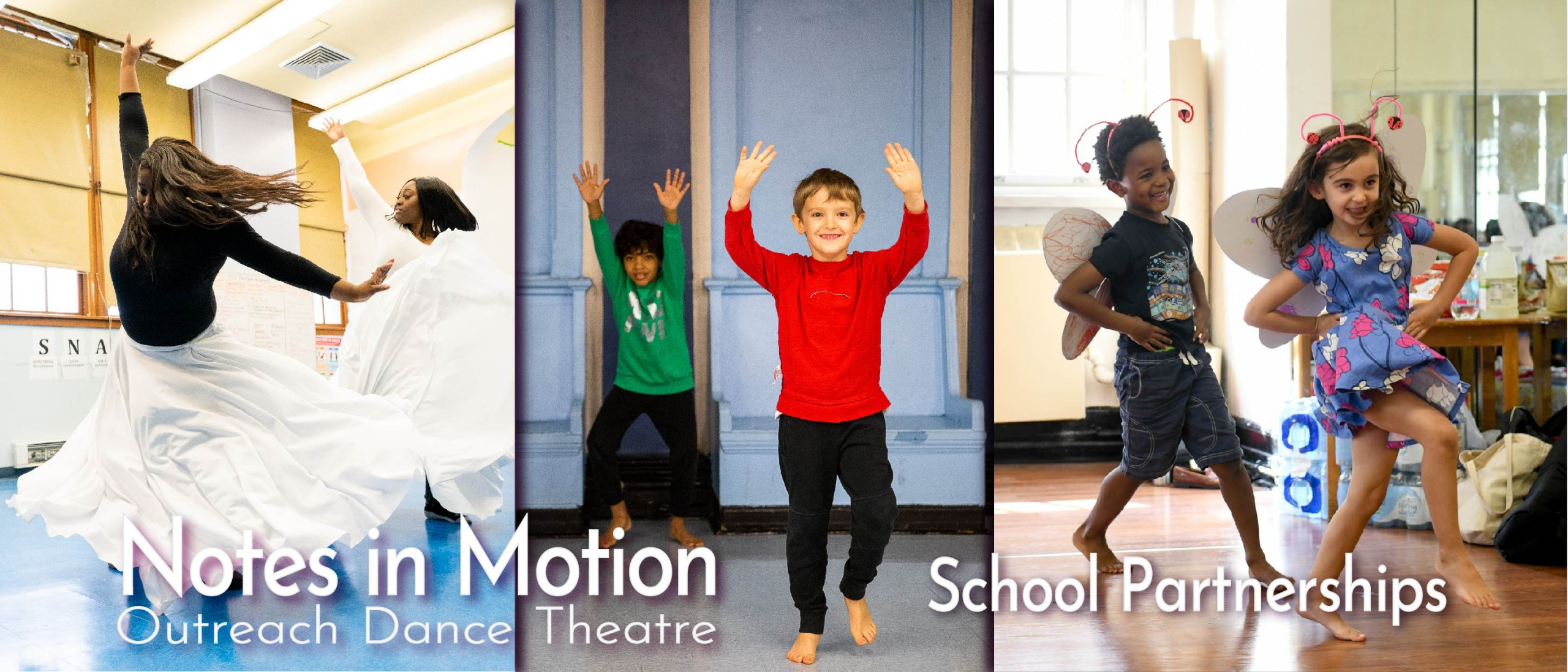 Notes in Motion school partnerships offered in NYC publics schools throughout the 5-boroughs