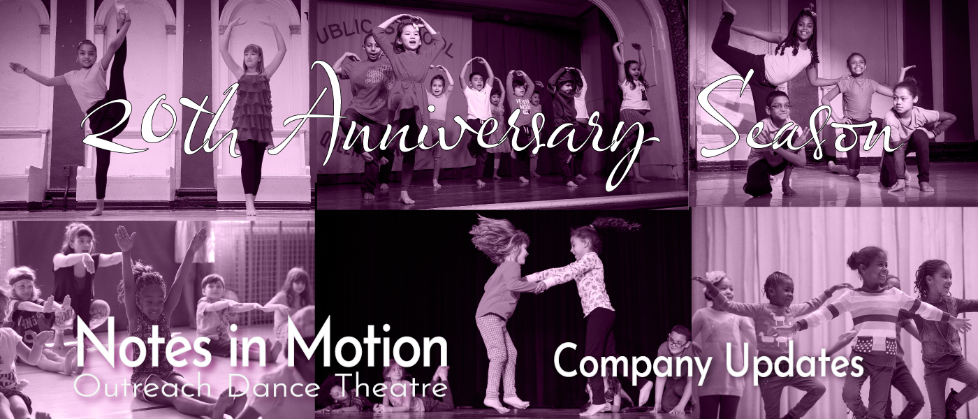 20th Anniversary Season of Notes in Motion Outreach Dance Theatre in photos